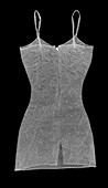 Patterned strapped dress, X-ray