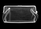 Coin purse, X-ray