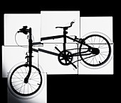 Bicycle montage, X-ray