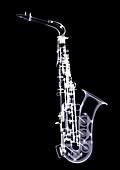 Saxophone, X-ray