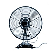 Electrical fan, X-ray