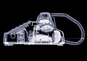 Corded telephone, X-ray