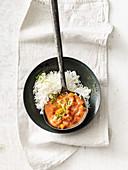 Spicy vegan sweet potato curry