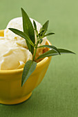 Lemon verbena ice cream