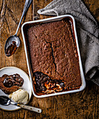 Sticky Toffee Self Saucing Pudding