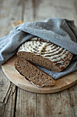 Pure sour dough rye bread (vegan)