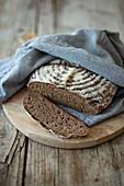 Pure sour dough rye bread (vegan)