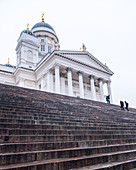 A view of the cathedral, Helsinki, Finland