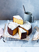 Flourless Orange and White Chocolate Cake
