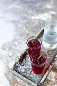 Beetroot gin