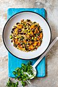 Vegetarischer persischer Reis