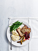 Scandinavian mince meatloaf