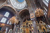 The dome of the Uspenski Cathedral, Helsinki, Finland
