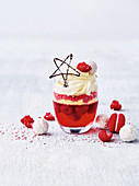 Mini Berry Jelly Trifle