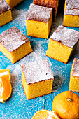 Gluten-free clementine cake (ground almonds and free from plain floor)