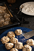 Apricot and almond amaretti