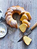 Lemon Sand Cake