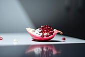 A piece of pomegranate