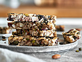 Sugar-free nut bars