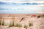 Dunes and the sea, Yyiteri beach, Varsinais-Suomi, west coast of Finland
