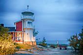 Kallo lighthouse, Pori, Varsinais-Suomi, west coast of Finland