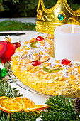 Roscon de Reyes - Spanish Epiphany Cake