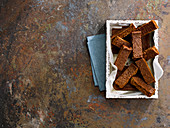 Parkin - a Bonfire Night tradition gingerbread cake