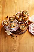 Gewürzchai-Muffins
