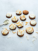 Orange and Coconut Cookies