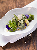 Strangolapreti (spinach and ricotta gnocchi, Italy)