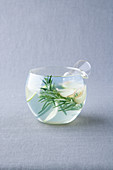 Ginger and rosemary tea