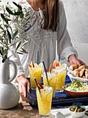 Pfirsich-Anis-Margarita