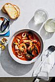 Brodetto (Italian fish soup)