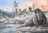 Pleistocene fauna, illustration