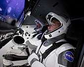 SpaceX Crew Dragon training