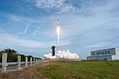 SpaceX Crew Dragon in-flight abort test launch