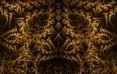 Fractal Rorschach composition