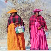 Herero funeral gathering, Namibia