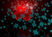 Pathogenic virus, conceptual illustration