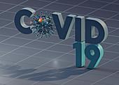 Covid-19, conceptual illustration