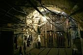 Coal mine lift