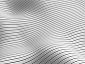 Waves, abstract illustration