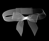 Ribbon in a bow, X-ray