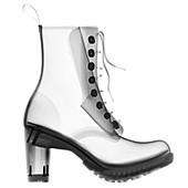 High heel boot, X-ray