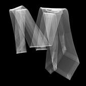 Tie, X-ray