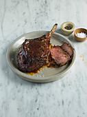 Rib-eye steak on the bone