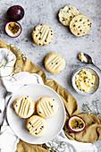 Passionfruit Sandwich Biscuits