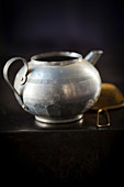 An old teapot