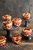Mini plum cakes