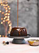 Jamaican ginger sponge pudding christmas dessert
